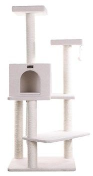 Armarkat B5701 57-Inch Cat Tree, Ivory review