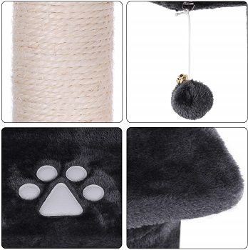 BEWISHOME Large Cat Tree Condo MMJ03 review