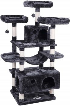 BEWISHOME Large Cat Tree Condo MMJ03