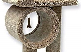 Beatrise 24 in. Kitty Tunnel Cat Tree review