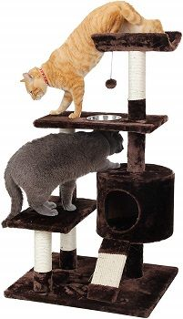 Cat Craft 4304601 Deluxe Feeder Perch Cat Tree review