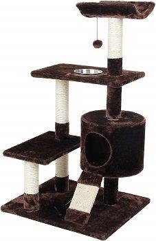 Cat Craft 4304601 Deluxe Feeder Perch Cat Tree