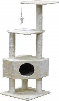 Go Pet Club 51-inch Cat Tree Condo House Furniture