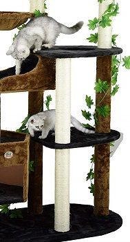 Go Pet Club 74-inch Forest Cat Tree Furniture review