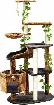 Go Pet Club 74-inch Forest Cat Tree Furniture