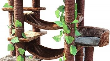Kitty Mansions 78. in Amazon Cat Tree review