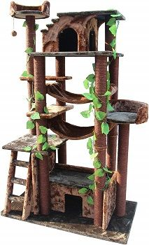 Kitty Mansions 78. in Amazon Cat Tree