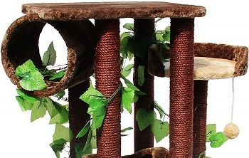 Kitty Mansions Oak Cat Tree review
