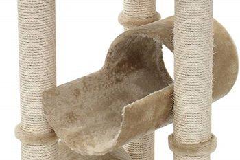 Majestic Pet 44-inch Furniture Condo House Scratcher Multi-Level Cat Tree review