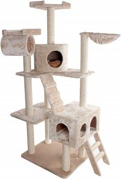 Majestic Pet 73 Inch Cat Tree House Condo