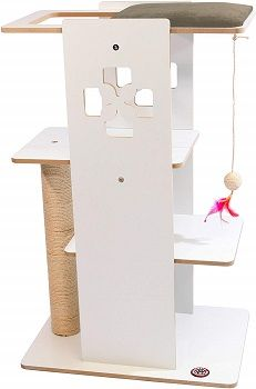 Majestic Pet Luxe Modern Cat Tree Condo Furniture review