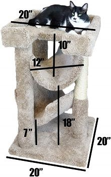 New Cat Condos Premier Cat Scratch and Lounge review