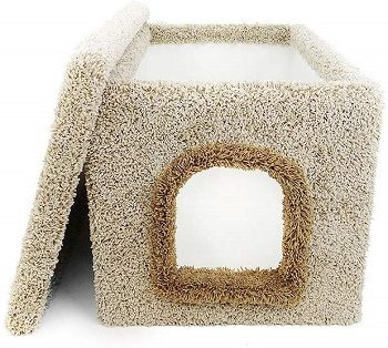 New Cat Condos Premier Enclosure Litter Box