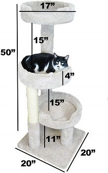 New Cat Condos Premier Kitty Pad Cat Tree review