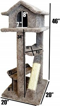 New Cat Condos Premier Large Cat Pagodas Tree review