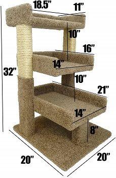 New Cat Condos Premier Triple Cat Perch review