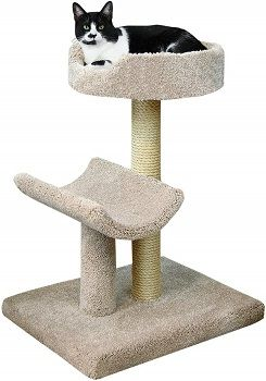 Prestige Cat Trees Beige Kitty Condo, Large