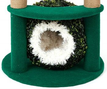 Two Level Cat Tree With Grass Ball review