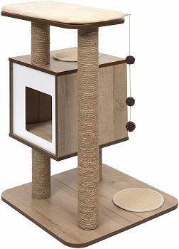 Vesper52062 Base Oak Cat Furniture