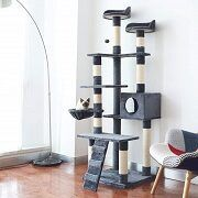 5 Best 6-ft & 72-inch Cat Tower & Tree To Get In 2020 Reviews