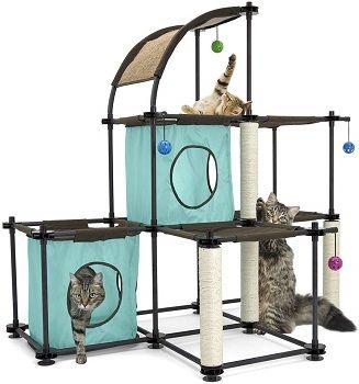 Kitty City Cat Condo Claw Mega Kit