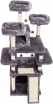 Made4Pets Cat Tower With Feeding Bowl review