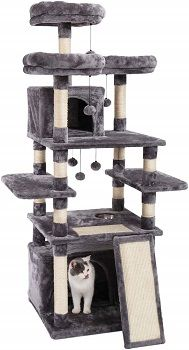 Made4Pets Cat Tower With Feeding Bowl