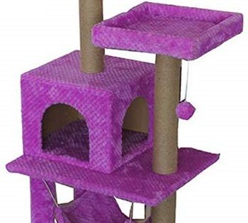 Moolo Purple Cat Tower review