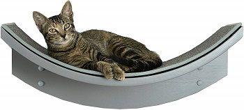 The Refined Feline Lotus Leaf Cat Shelf review