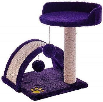 Yingui Purple Cat Tree