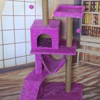pink-purple-cat-tree-tower
