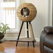 Best 5 Rattan & Wicker Cat Tree Furniture In 2020 Reviews