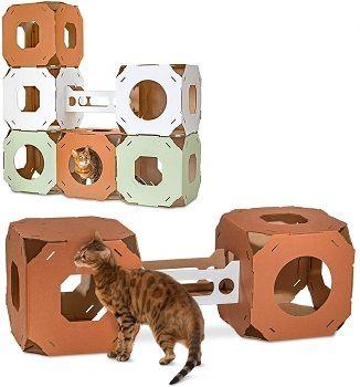 Catty Stacks Modular Cat Cubes