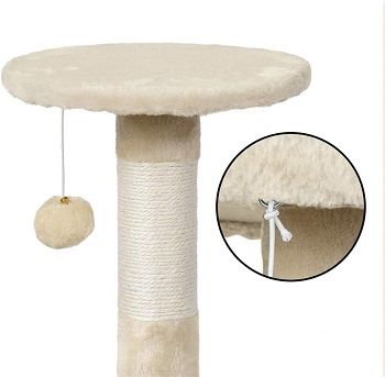 Yacheetech Cat Tree Scratching Post review
