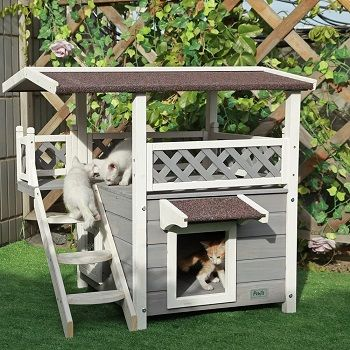 PetsFit Outdoor Cat House review