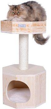 Armarkat Solid Wood Cat Tree Condo
